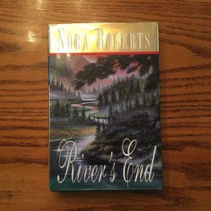 Nora Roberts 'River's End' hardcover novel